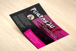 Pilates2u Local Marketing Flyer Design From Developing Brands