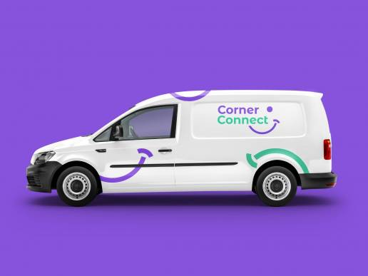 corner connect case study developing brands