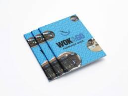 Wok & Go Brochure Design