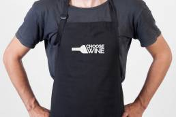 Choose Wine Apron Design